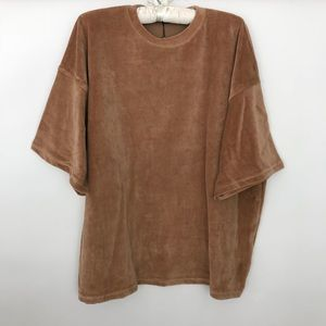 Missguided Velour Sweatshirt